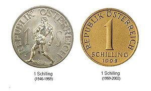 Alte österreichische Währung